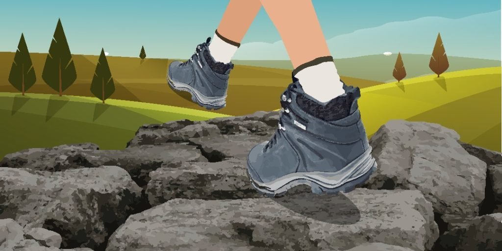 How to choose the right trekking shoes ?